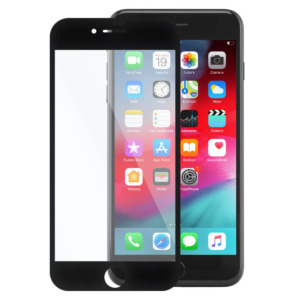 iPhone 7 Plus invisible tempered glass zwart