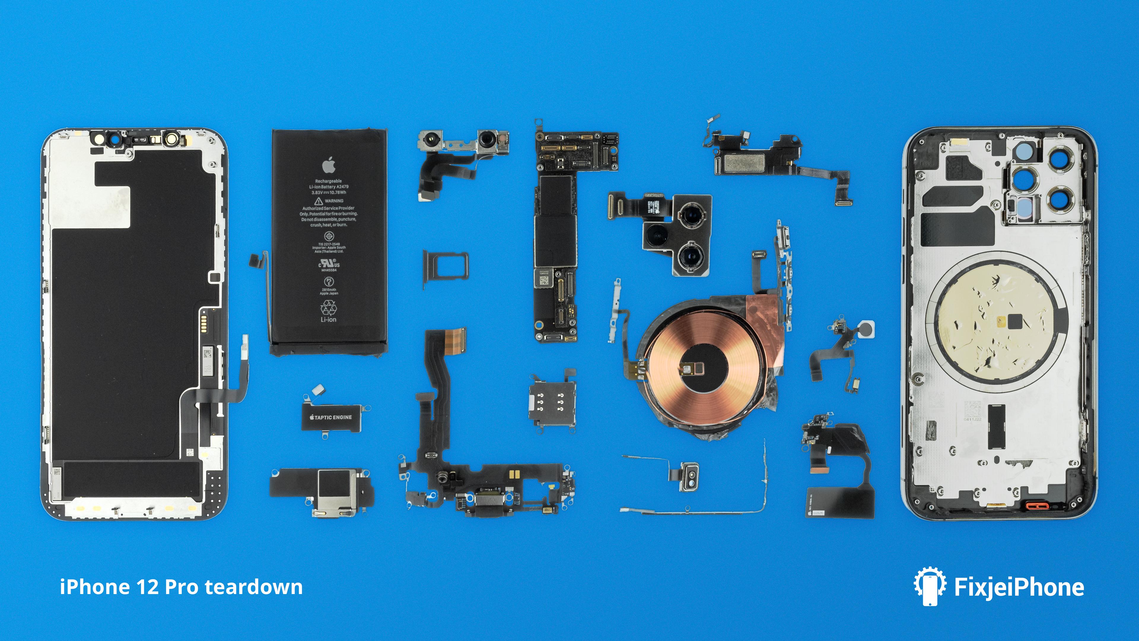 iPhone 12 Pro teardown